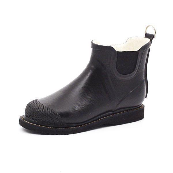 40c57d66d99 Ilse Jacobsen Chelsea boot gummistøvle sort