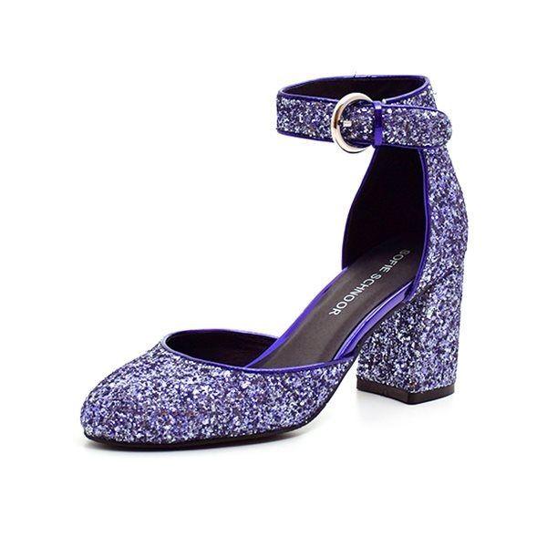 c849a198c44 Sofie Schnoor sko blå glimmer