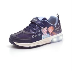 Geox Spaceclub Disney Frozen sneaker m. blink  navy