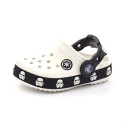 Crocband Kids  Starwars stormtrooper hvid/sort