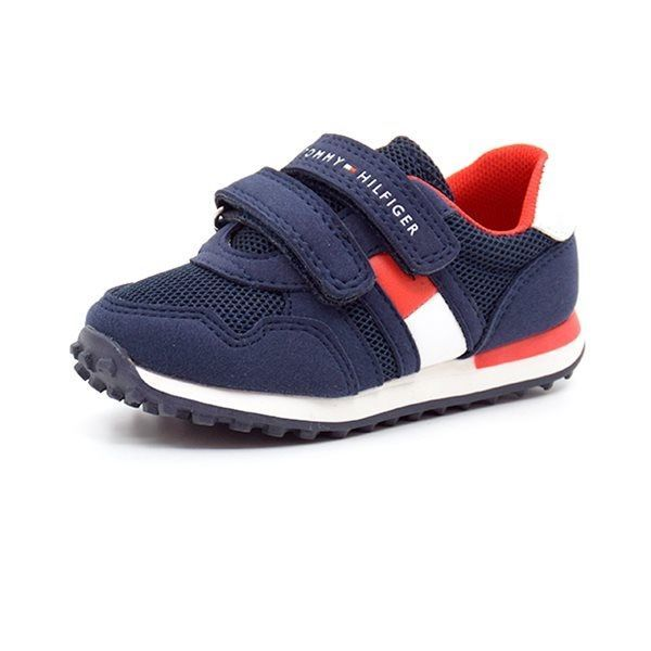 f105a931 Tommy Hilfiger Low Cut Can 900 sneakers m. velcro navy