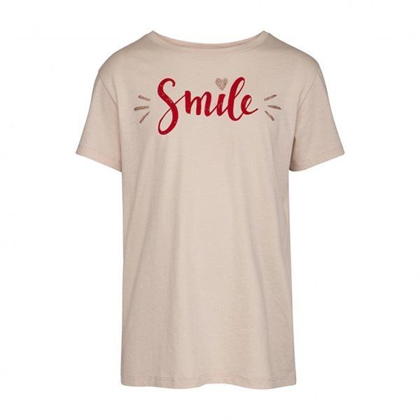 Petit by sofie schnoor SMIL t-shirt rosa