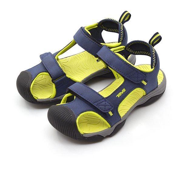 a51f25ede6f1 Teva Toachi lukket sandal navy  lime