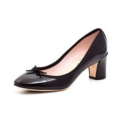 Repetto Clara Pump sort lak