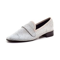Repetto Michael loafer sølvglitter