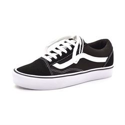 VANS Old Skool light m. snøre sort/hvid
