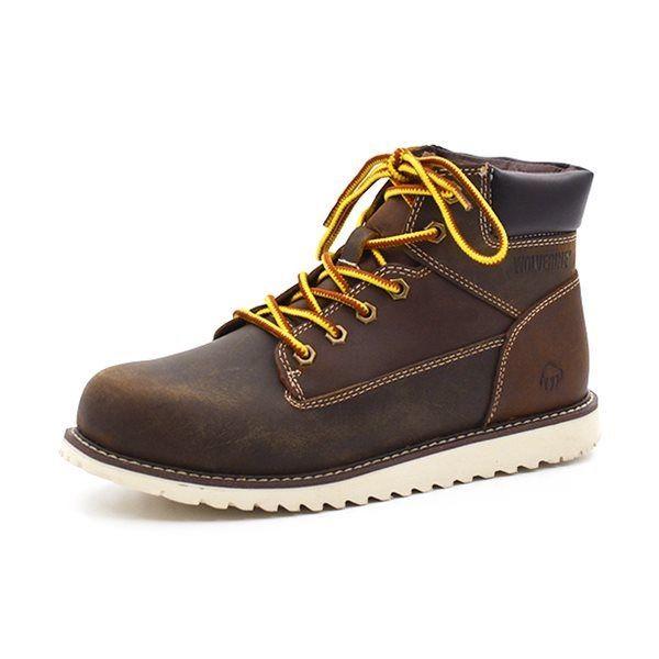 ec3bc5e656a8 Wolverine Zeke støvle brun