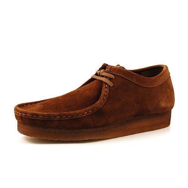 89ba5e71f029 Clarks Originals Wallabee sko i brun