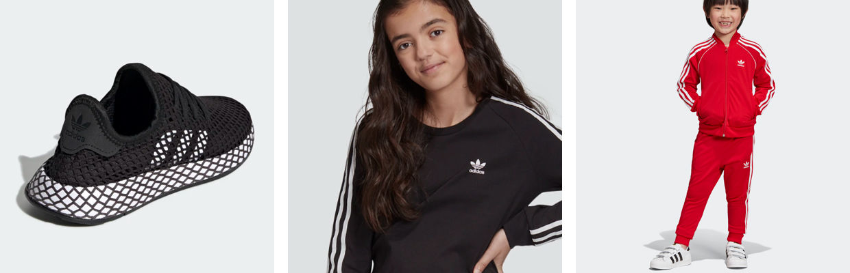 adidas Originals Badesandaler Adilette W Hvid m. Blomster